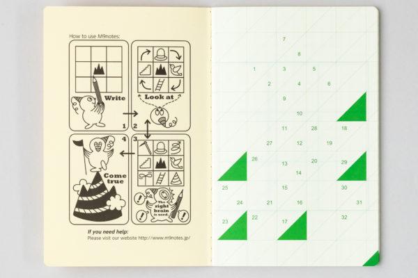 M9notes手帳サイズ 1ページ