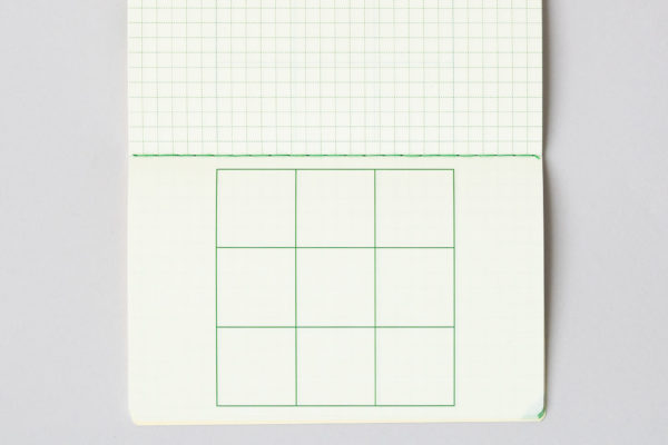 M9notes手帳サイズ 横使い