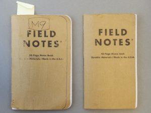 M9notes初期バージョンで参考にした手帳