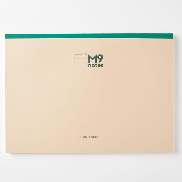 M9notes A4サイズ 横でも使えます。