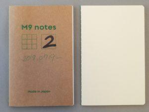 M9notesの試作品