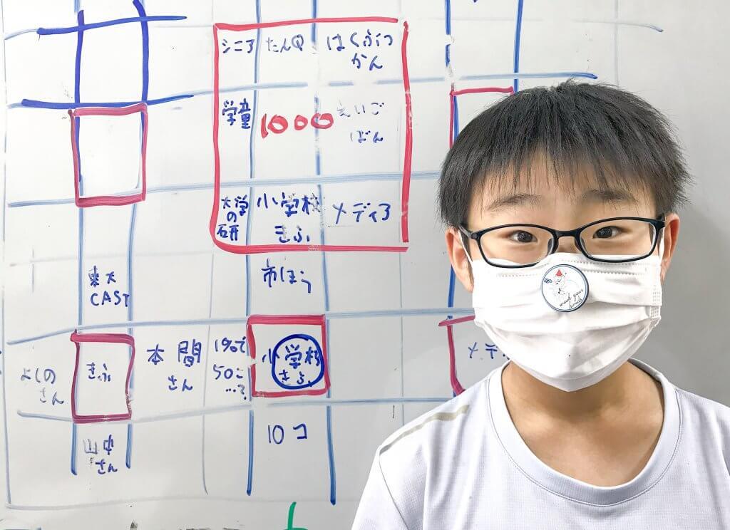 9マスで「元素カルタ」を作った小学5年生