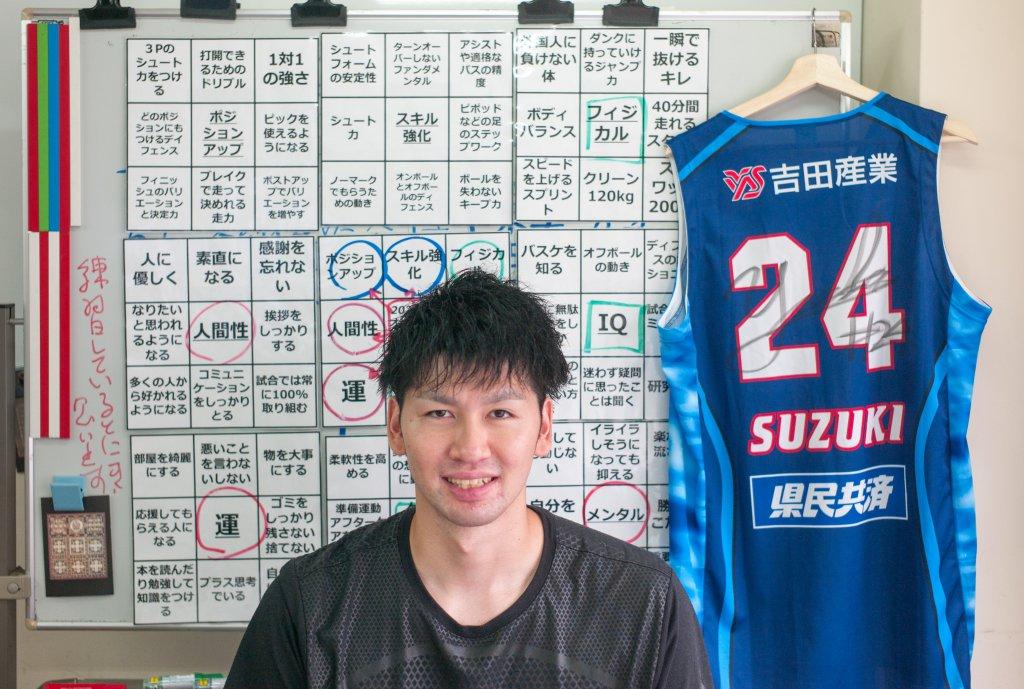 81マスで「2024年オリンピック日本代表」の目標を作ったプロバスケ選手