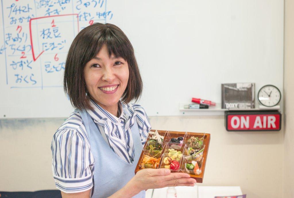 M9notesを使っている料理家の西村秋保さん