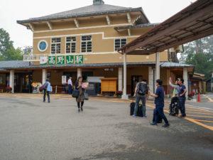 高野山駅前