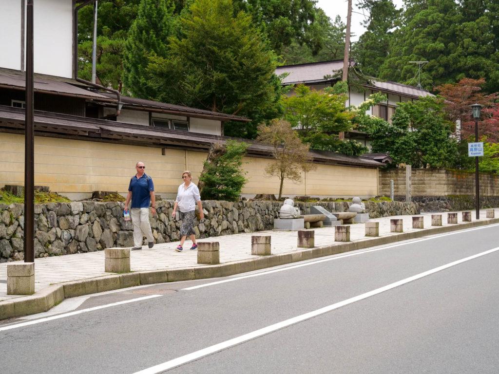 高野山・大門通の風景