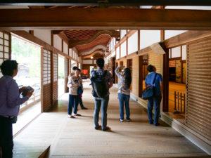 金剛峰寺の中に入ったところ