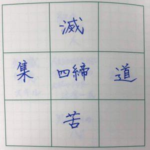四諦(苦集滅道)