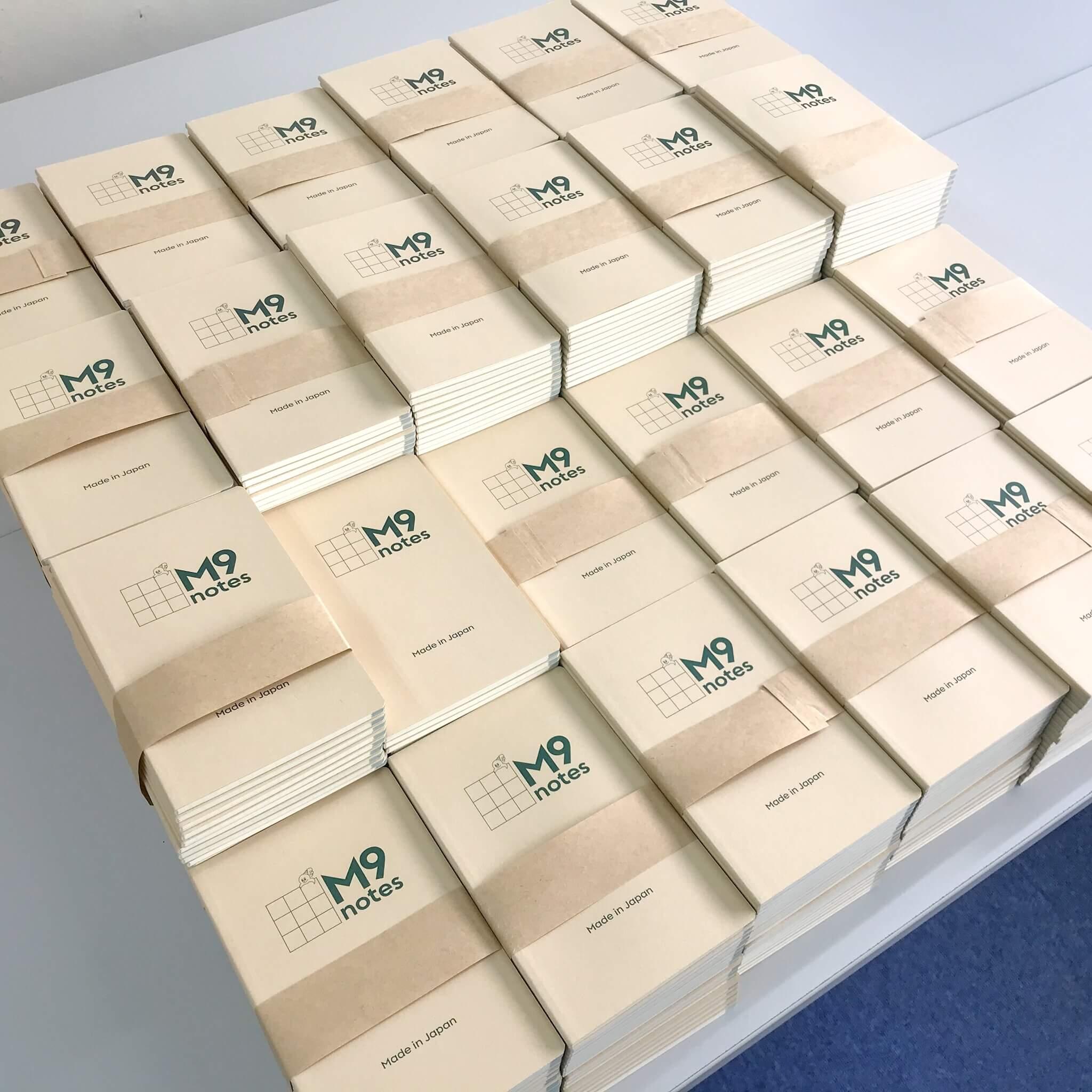 M9notes手帳1000冊サイズプレゼント中です。まだあります。