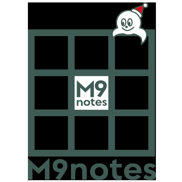 右脳で考える9マスノート M9notes