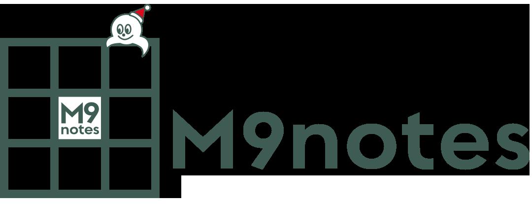 仕事が3倍速くなる魔法の9マスノート  M9notes