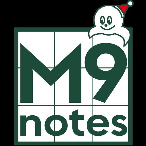 右脳で考える手帳 M9notes