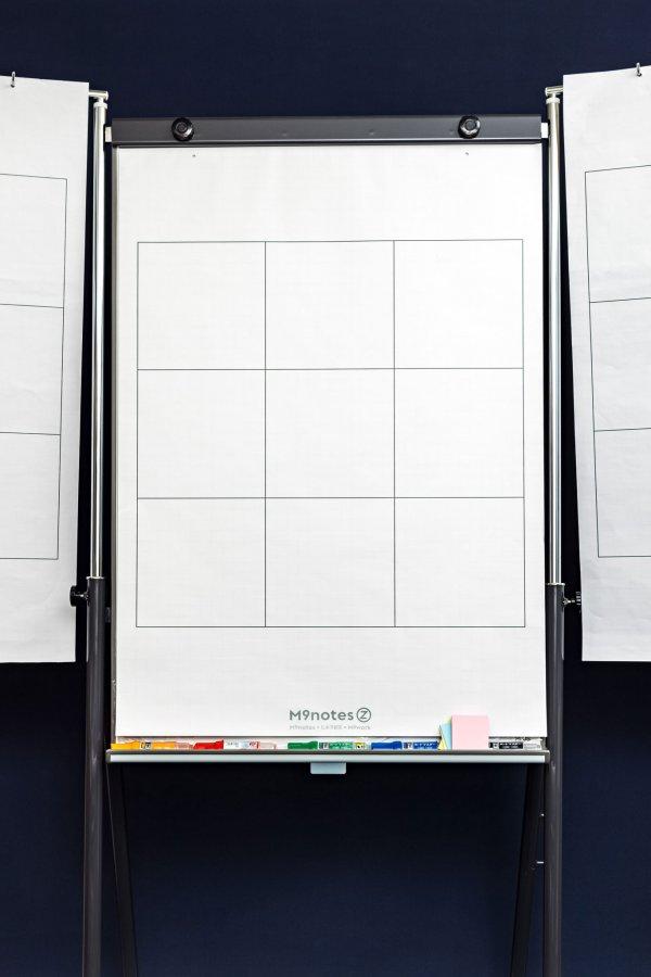 A1サイズの9マスノート M9notes Z 専用のミーティングボード