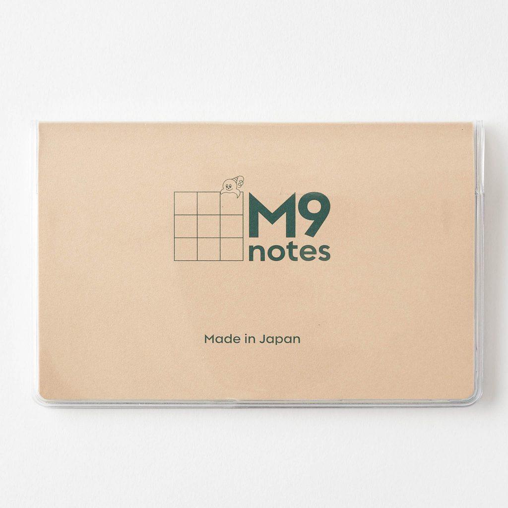M9noetsに手帳カバーをつけたところ